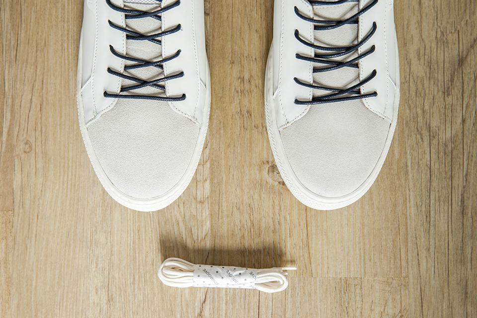 Baskets Schmoove Lacets Blancs
