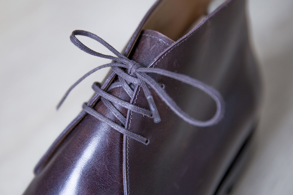 chukka boots lacets