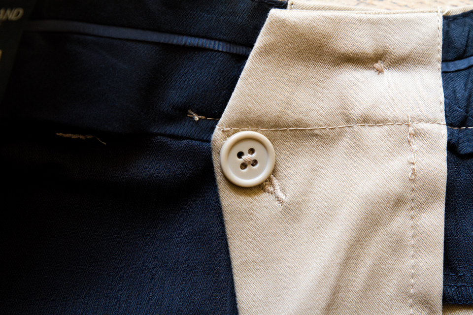doublure pantalon homme