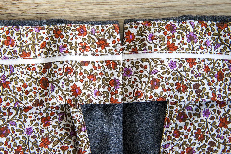 Pantalon Flanelle Doublure Arriere 1
