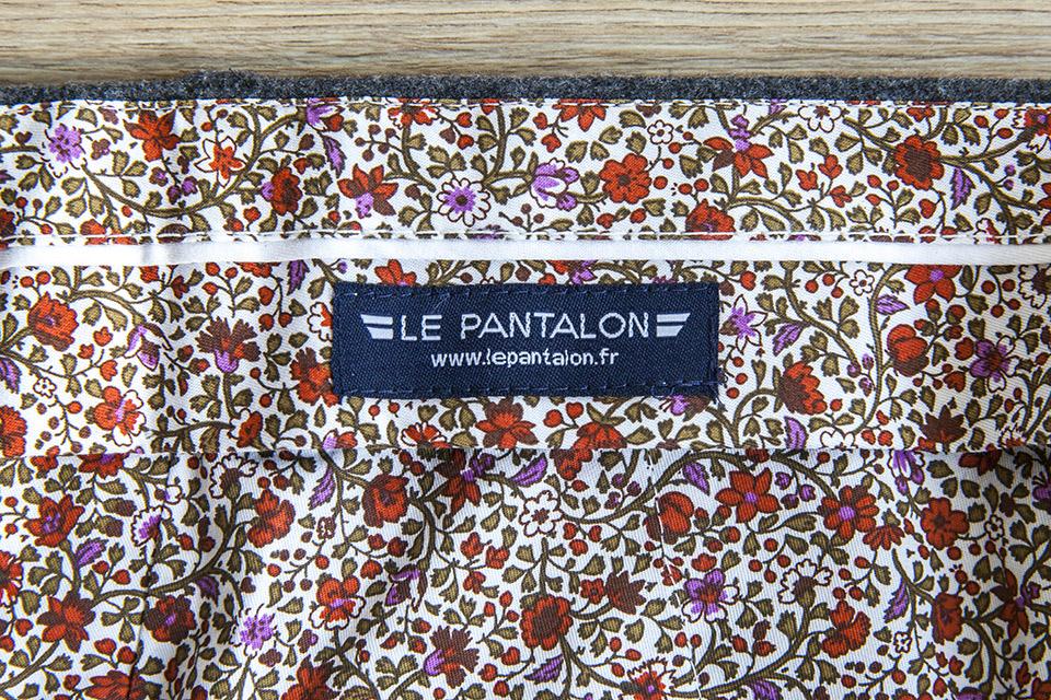 Pantalon Flanelle Etiquette