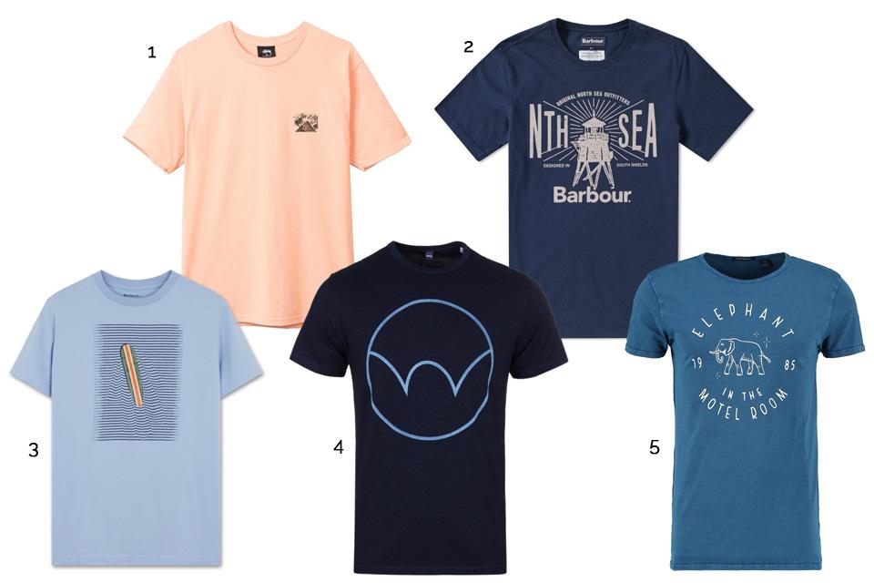 t-shirt graphique pas cher
