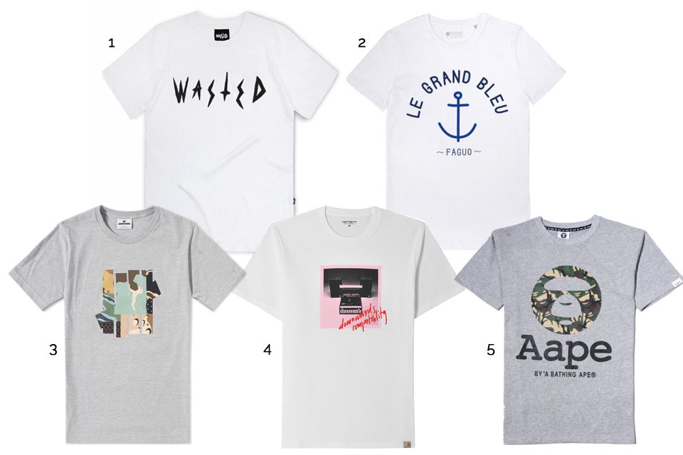 t-shirts graphiques chers