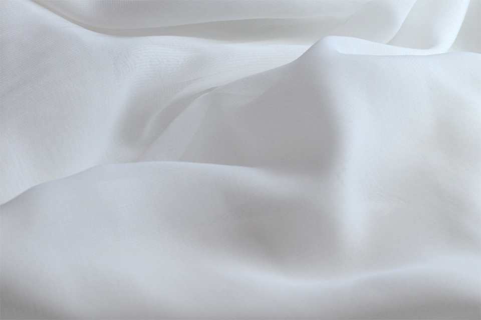 tissu soies mousseline