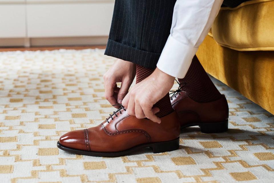 Carlos Santos chaussures haut de gamme homme