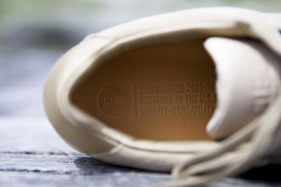 Baskets Clae Hoffman semelles interieur