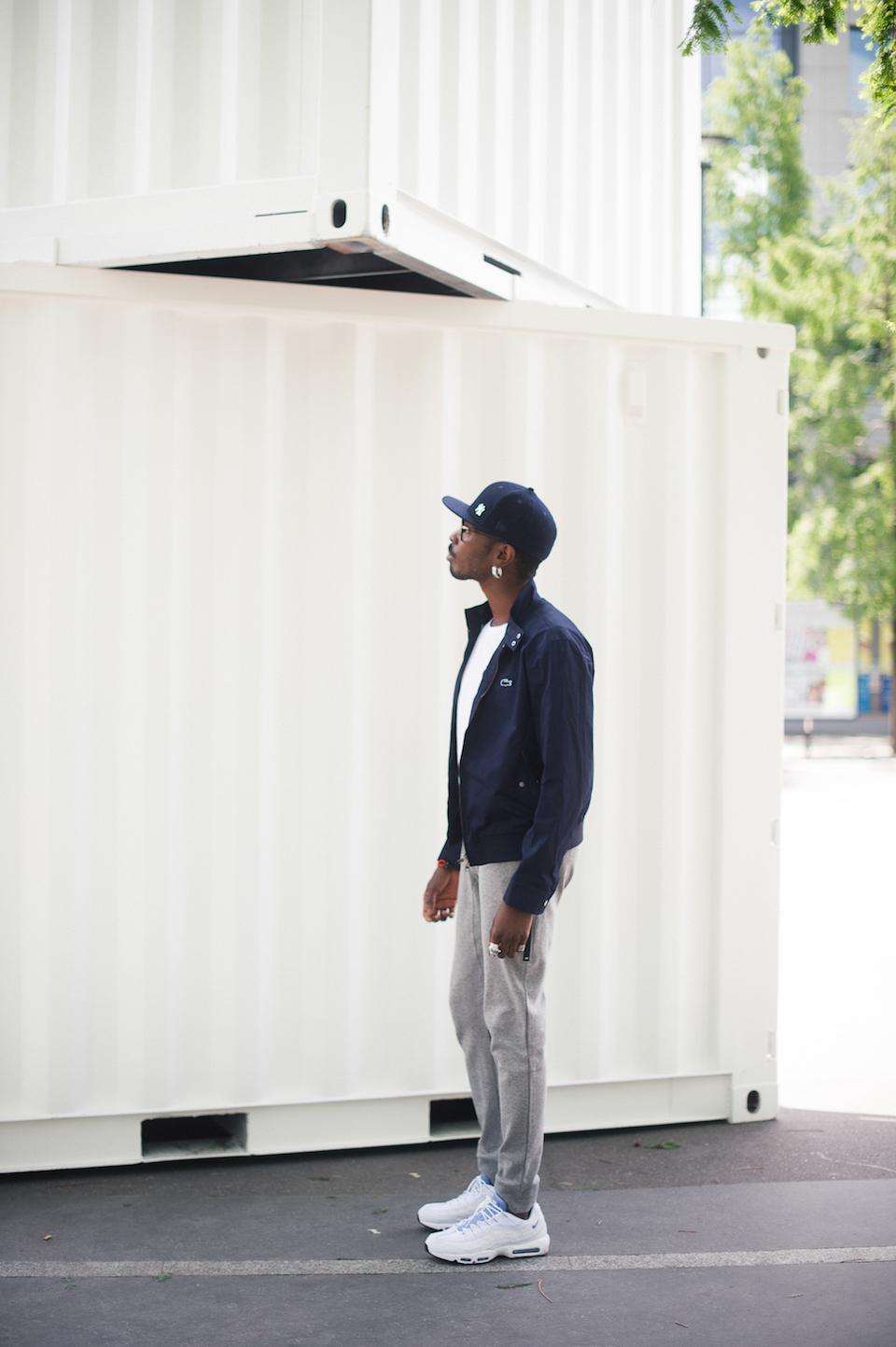 look homme sportswear chic