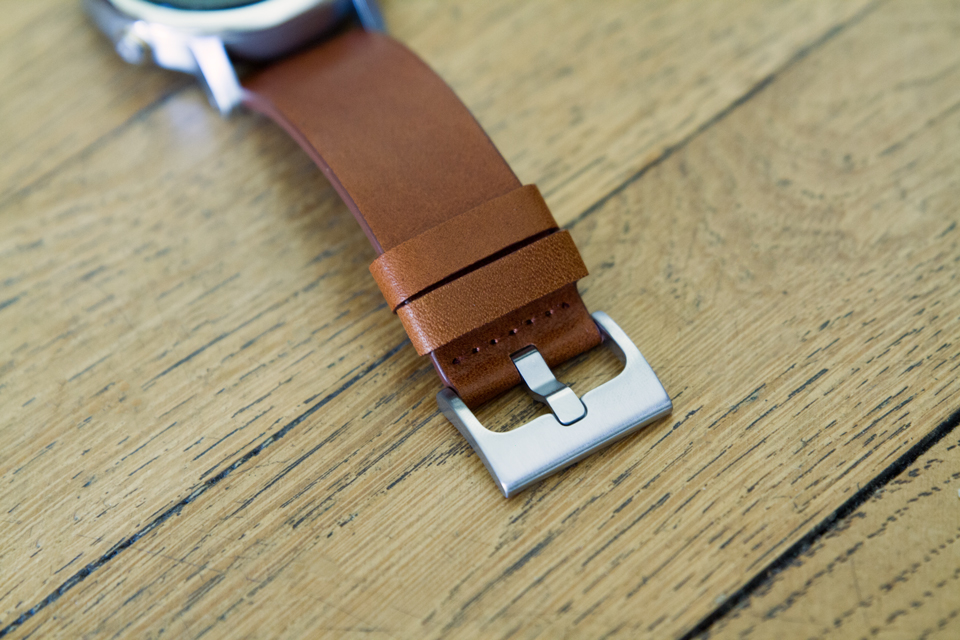 Boucle montre acier inoxydable