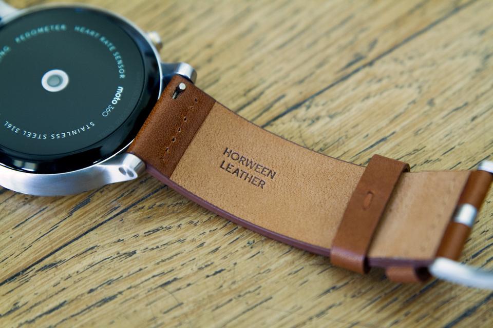 Bracelet cuir Horween