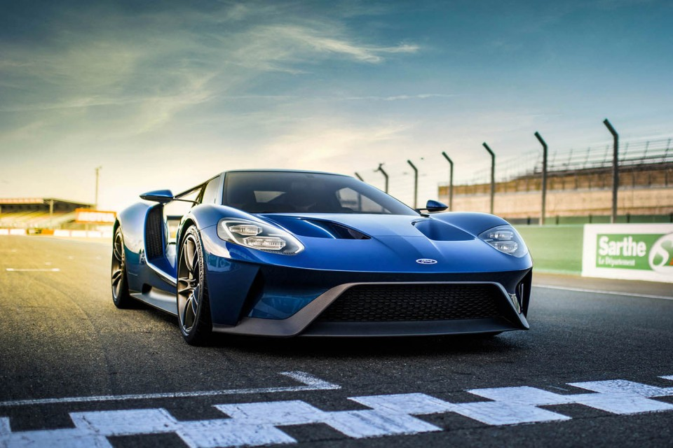 Ford Gt Depart