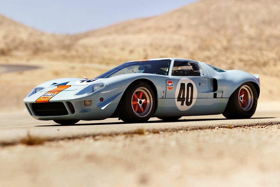 Ford Gt40 Gulf Sable