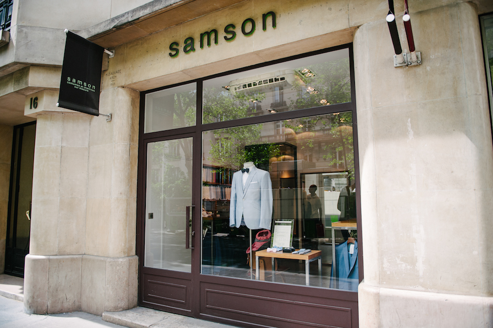 magasin costume sur mesure samson