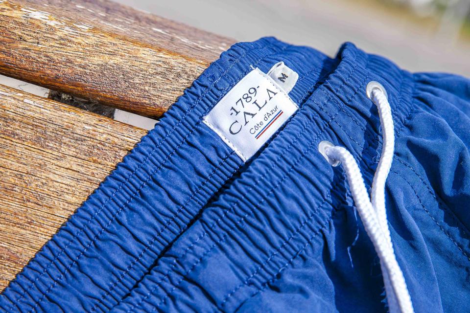 maillot 1789 Cala bleu etiquette