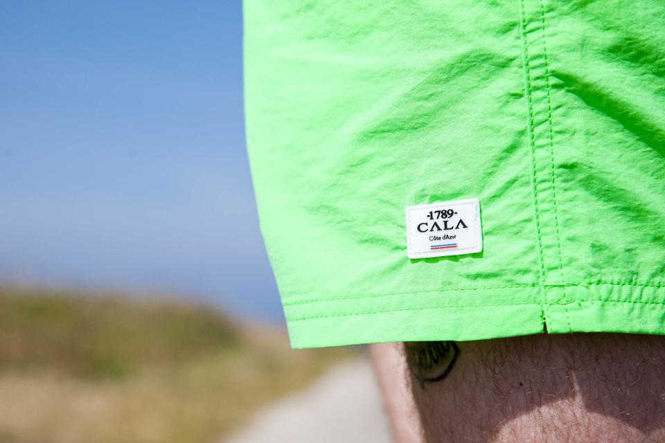 maillot 1789 Cala fluo vert logo
