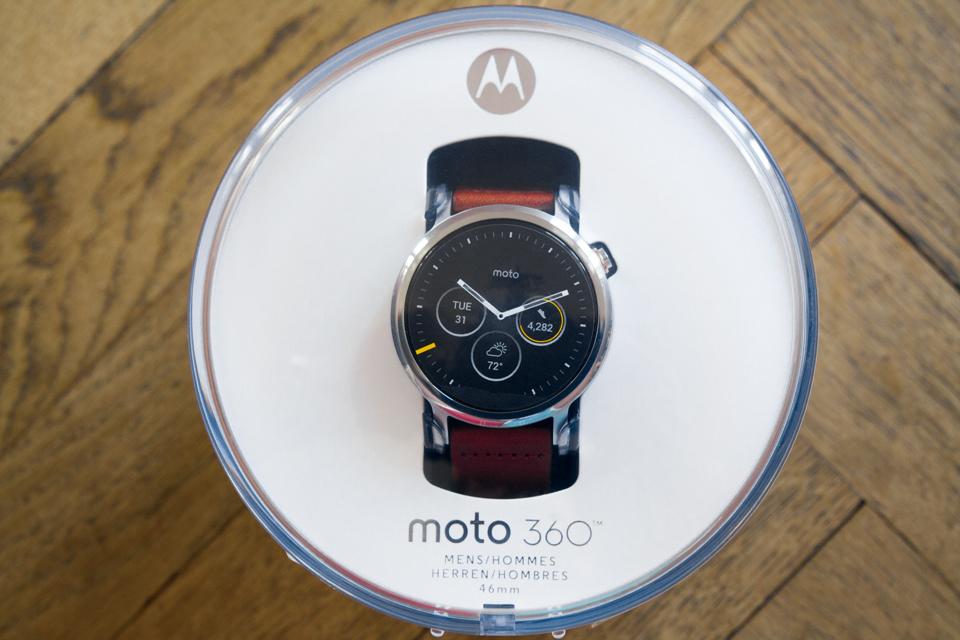 Montre Moto 360 test avis