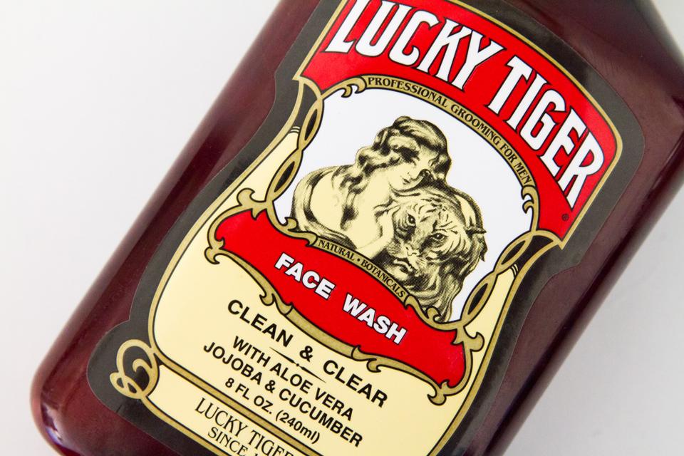 Nettoyant visage concombre Lucky Tiger