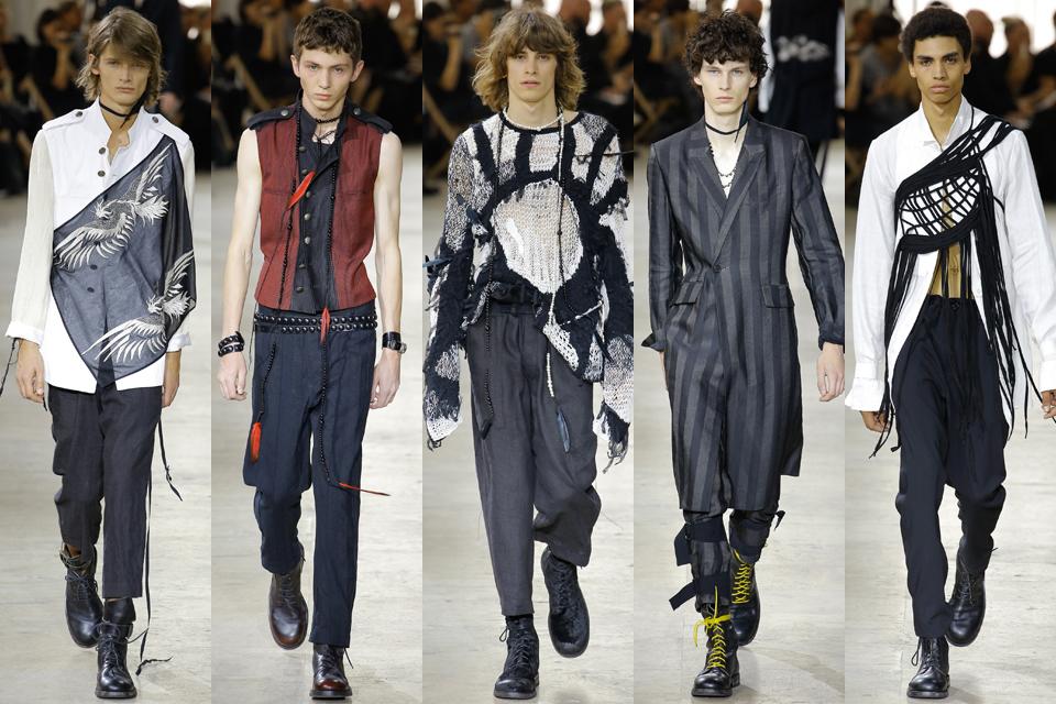 ann demeulemeester fashion week paris homme