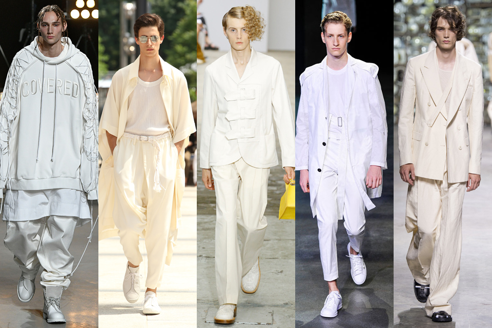 blanc fashion week homme paris