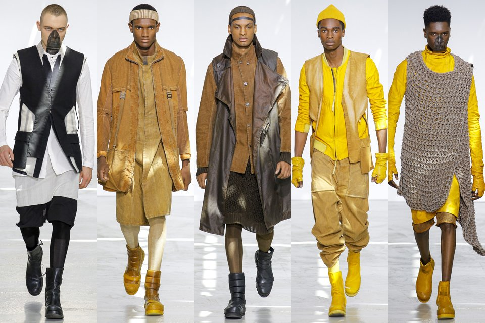 boris bidjan saberi paris fashion week homme