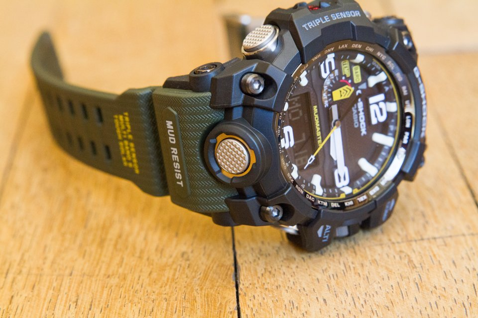 Casio G-shock luminescent