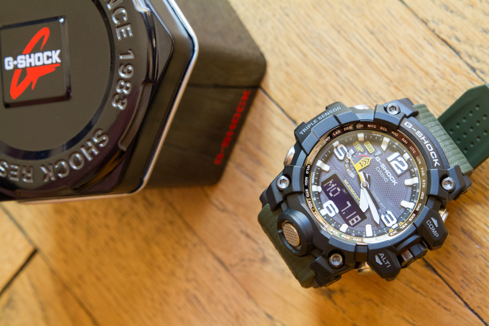 montre casio g shock mudmaster test avis. Black Bedroom Furniture Sets. Home Design Ideas