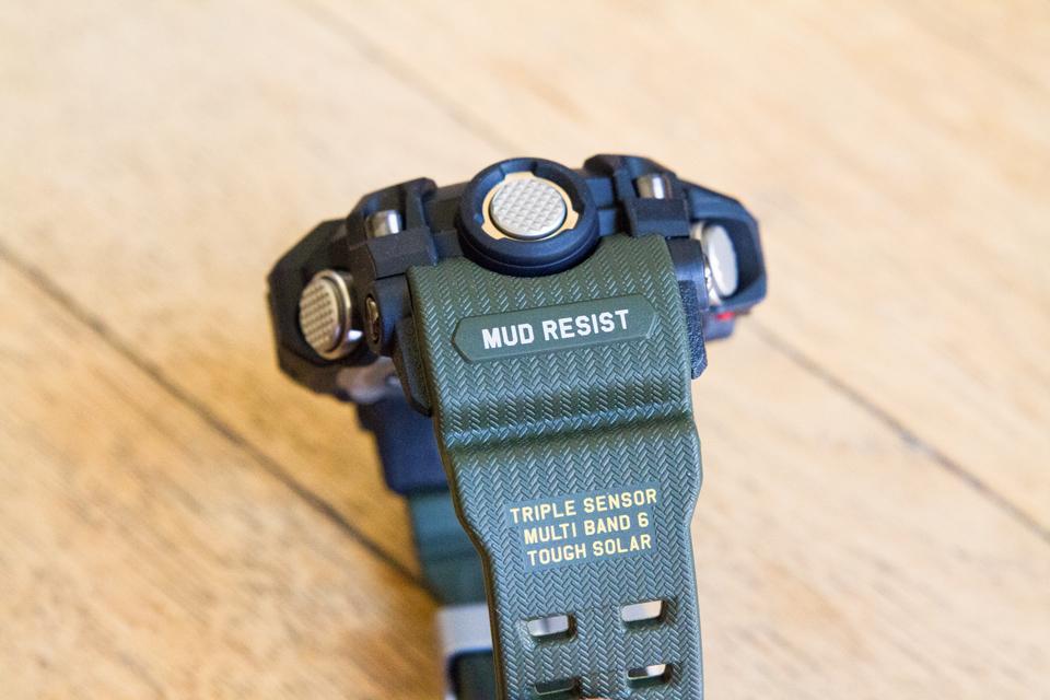 Casio G-shock mud resistance watch