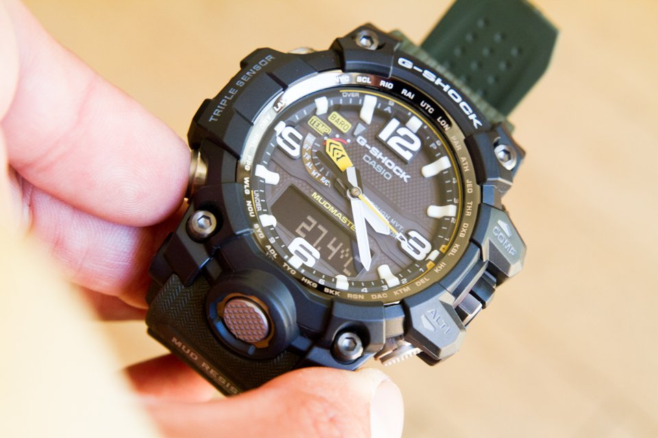 Casio G-shock Mudmaster Temperature