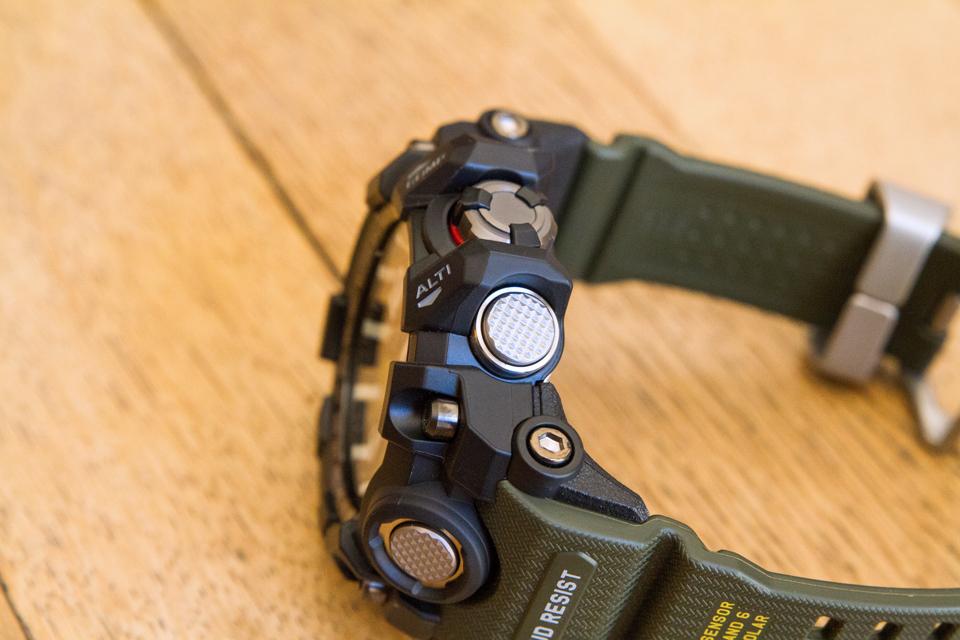 Casio G-shock Mudmaster Altimetre