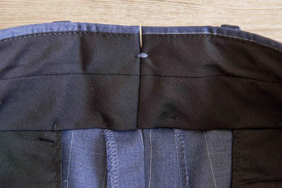 Pantalon Boggi Point couture