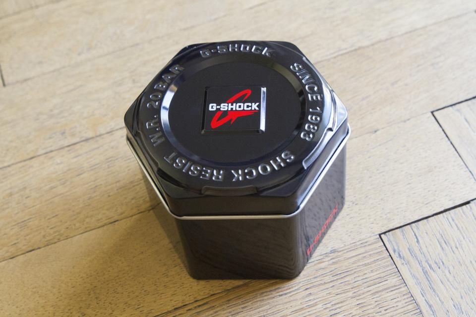 G-shock boîte métal