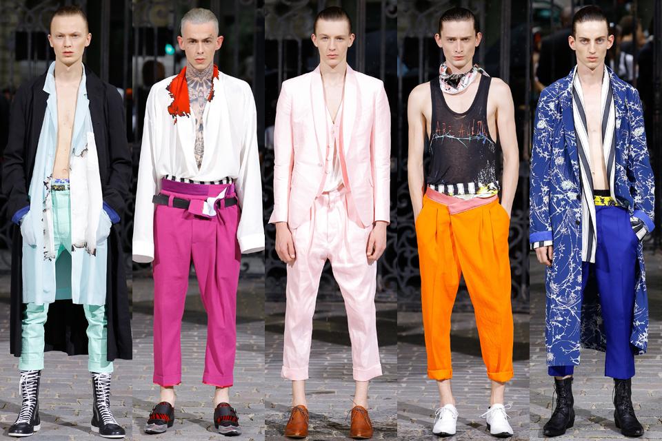 haider ackermann paris fashion week homme