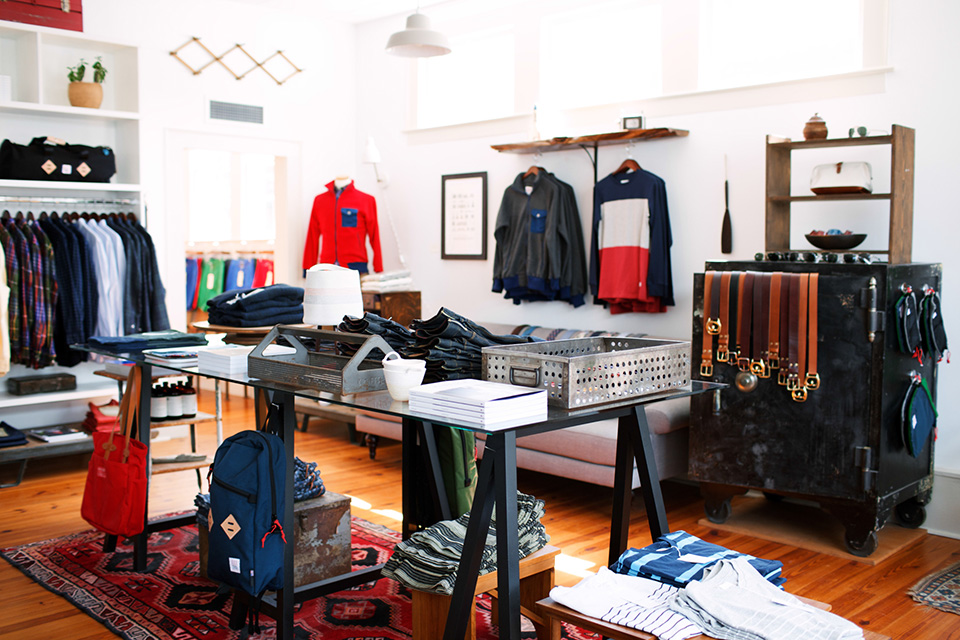 indigo cotton shop boutique store