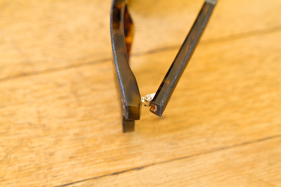 Jfrey monture ecailles cuir