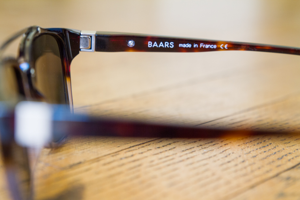 Lunettes made in France Baars