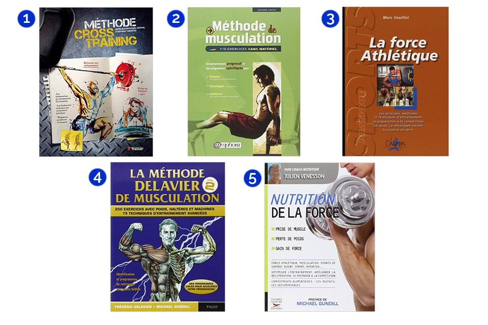 meilleurs livres musculation