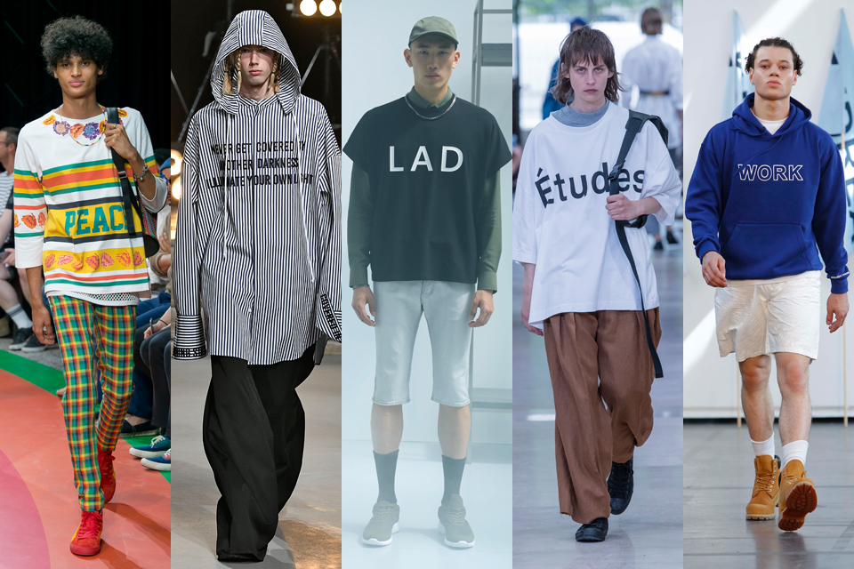 message paris fashion week homme