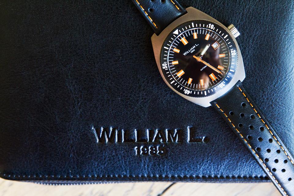 William L. 1985 montre automatique Test