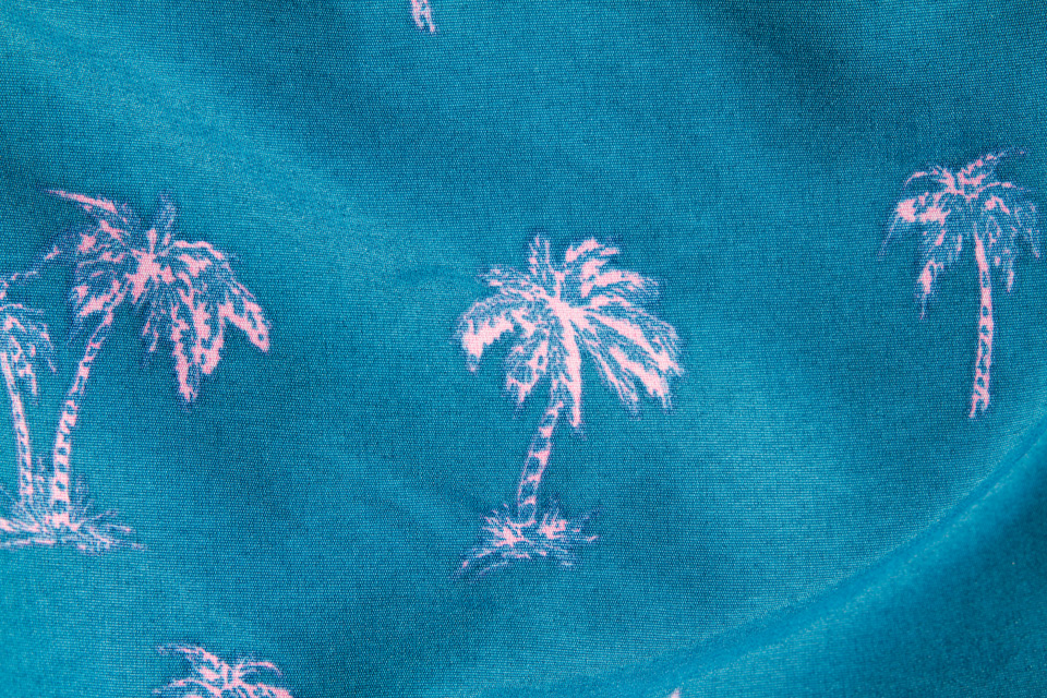 motif palmiers river island