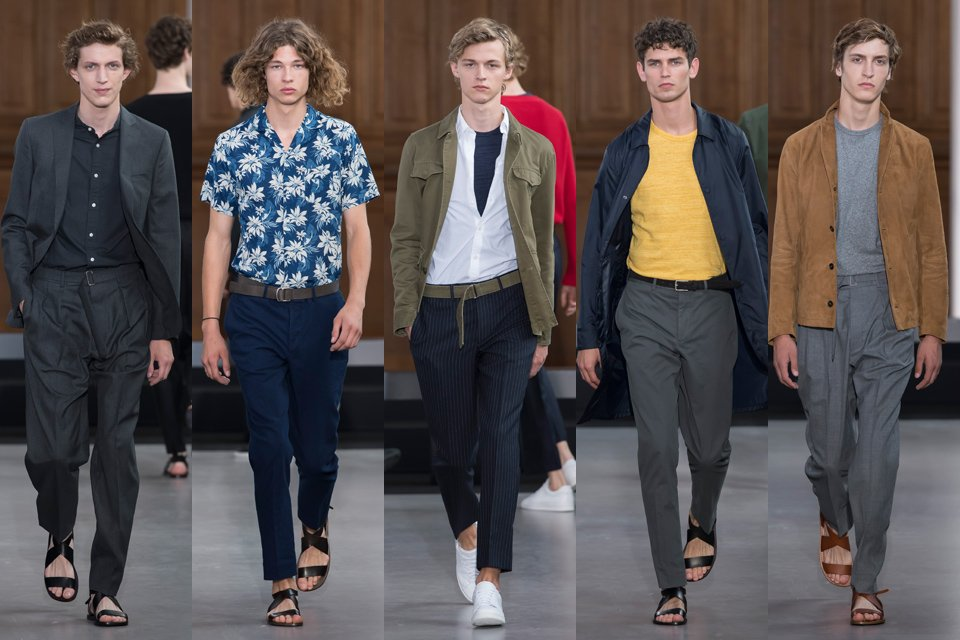 officine generale paris fashion week homme