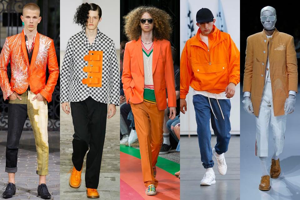 orange paris fashion week homme