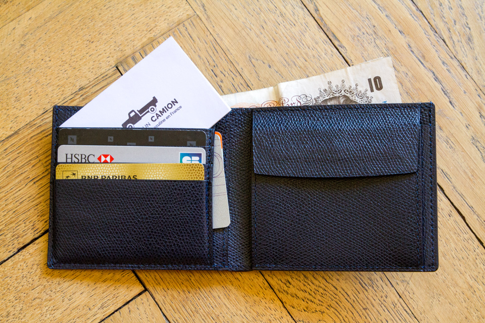 Billfold coin wallet RSVP Paris