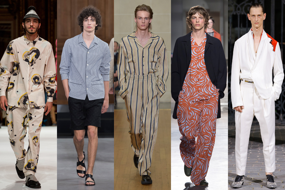 pyjama paris fashion week homme