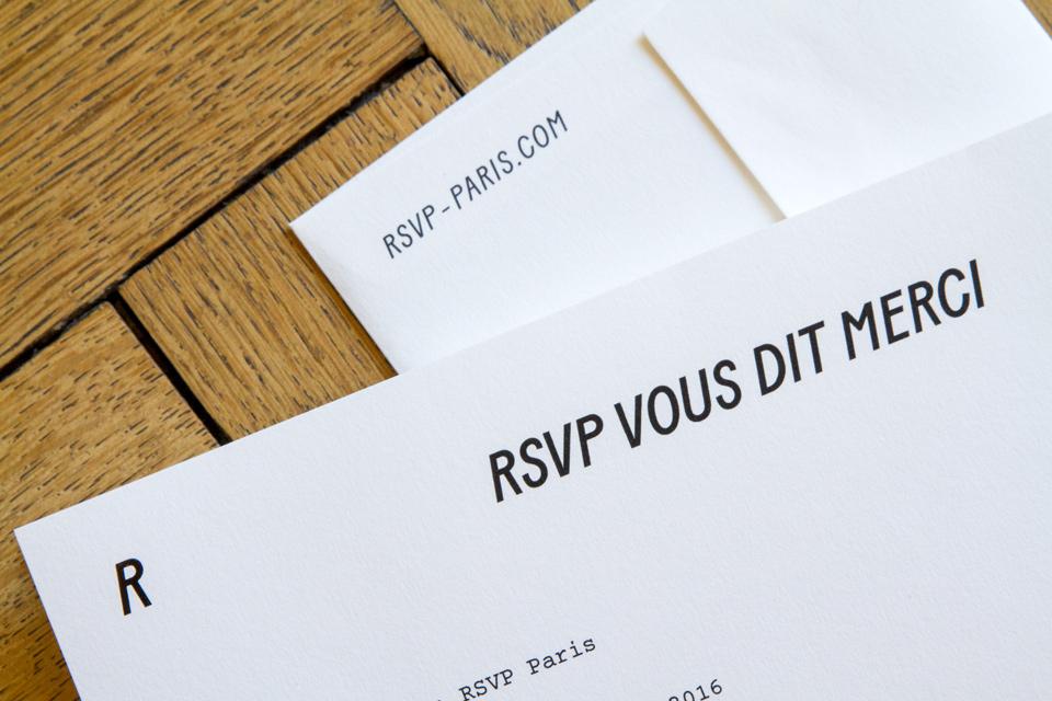 RSVP Paris Marque Maroquinerie