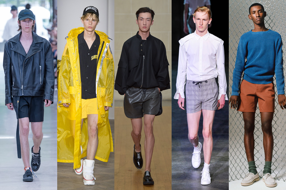 short fashion week homme paris