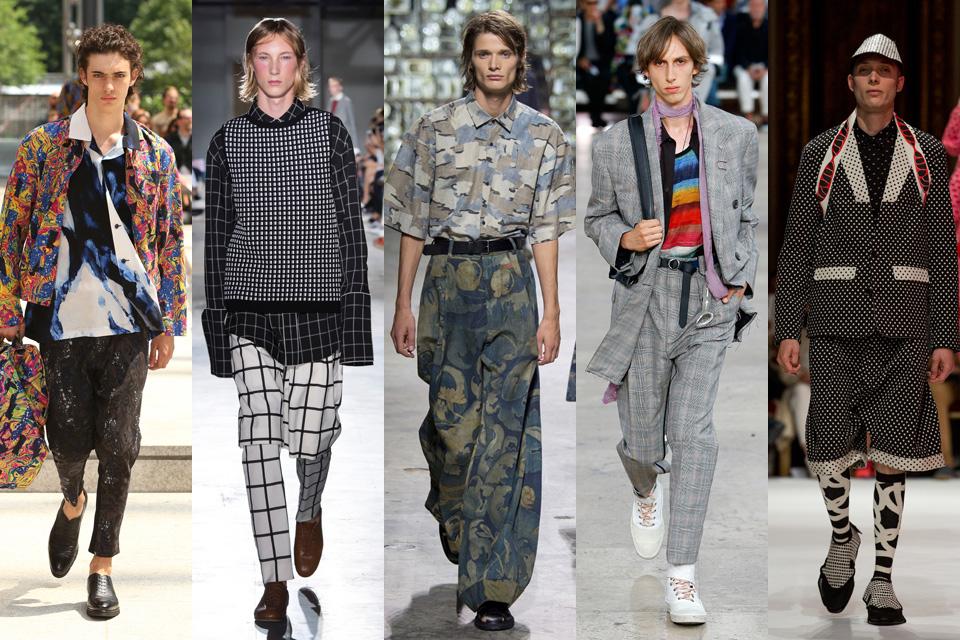 tendances homme paris fashion-week paris