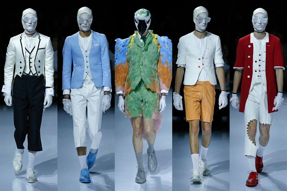 thom browne paris fashion week homme