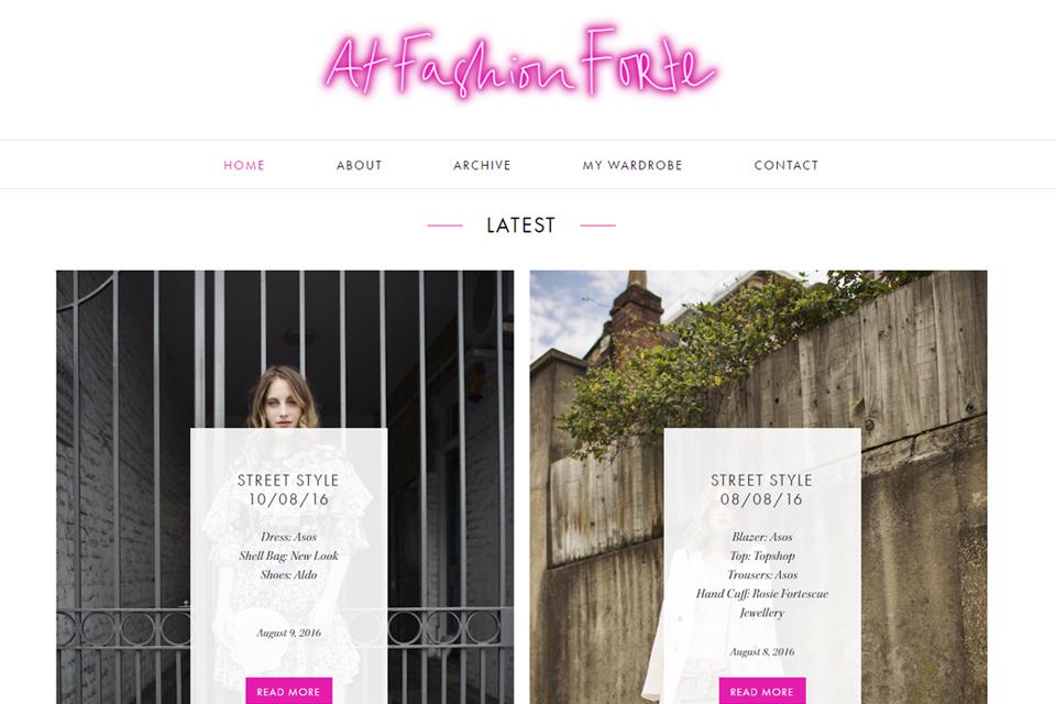 at fashion forte blog anglais