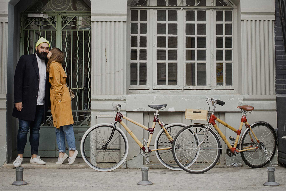 bamboo bike velo