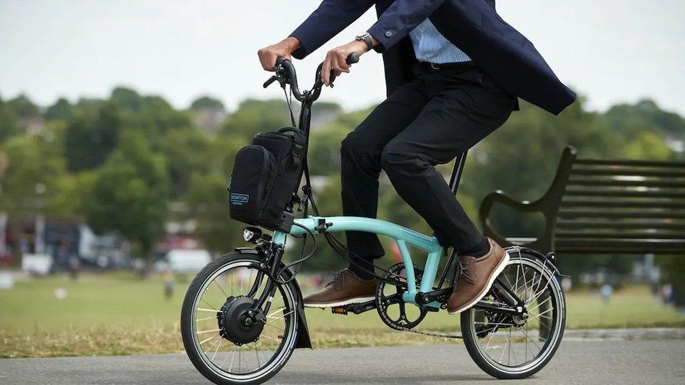 brompton vélo pliable