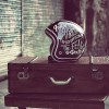 casque moto urbain city handpaint